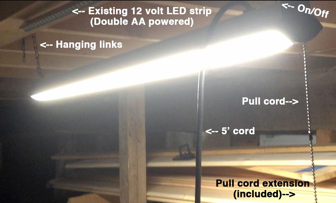 efficient bright cost effective light workshop the cedar workshop. Black Bedroom Furniture Sets. Home Design Ideas