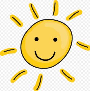 Happy sun picture