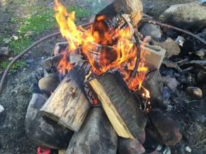 1st_blazing_Fire_for_Cowboy_Hot_Tub